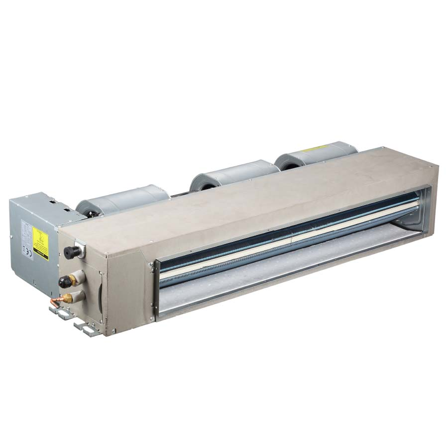 R410a vrf indoor units with dc fan motor 50hz low static for Dc motor air conditioner
