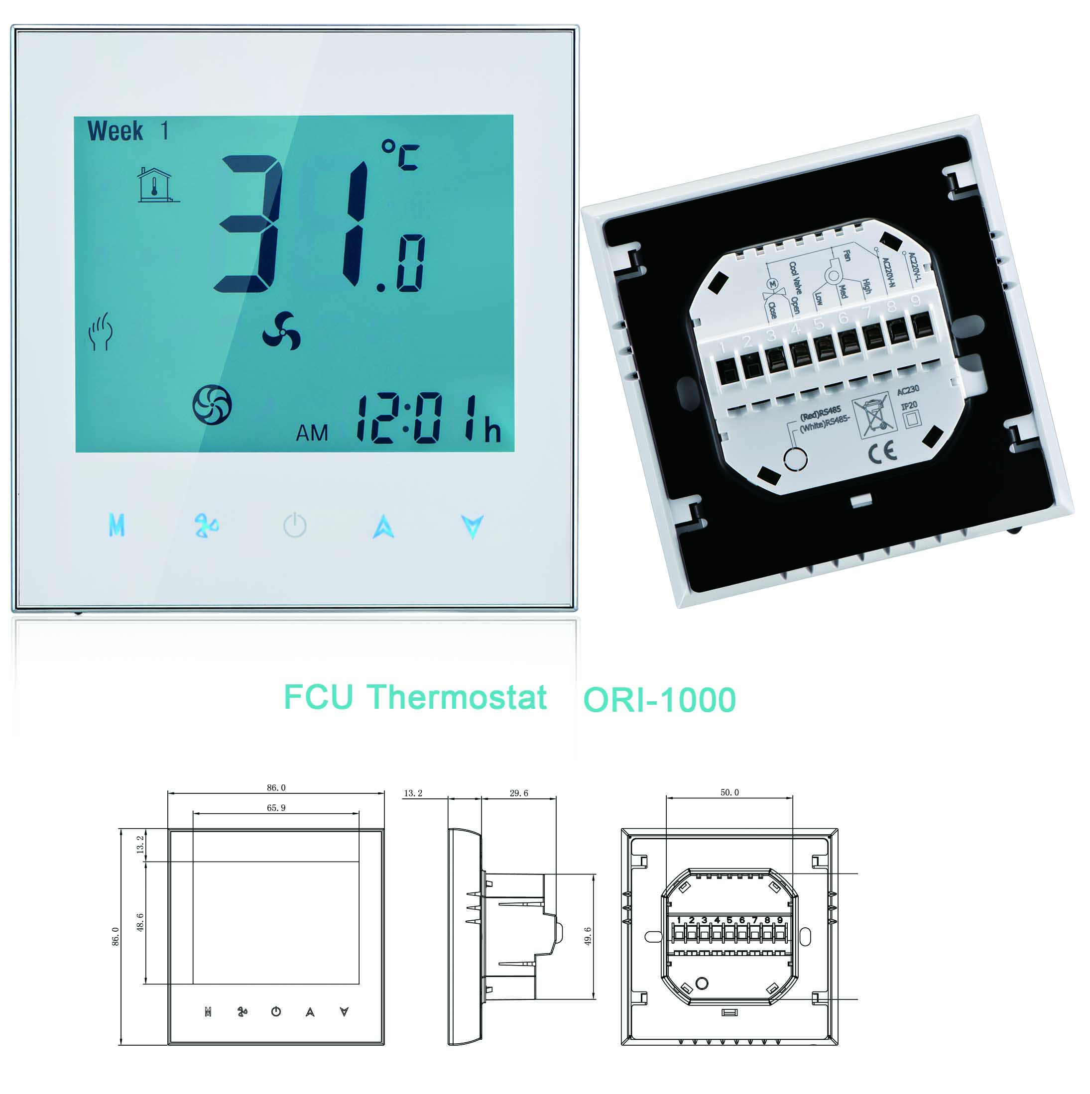 FCU Thermostat ORI-1000