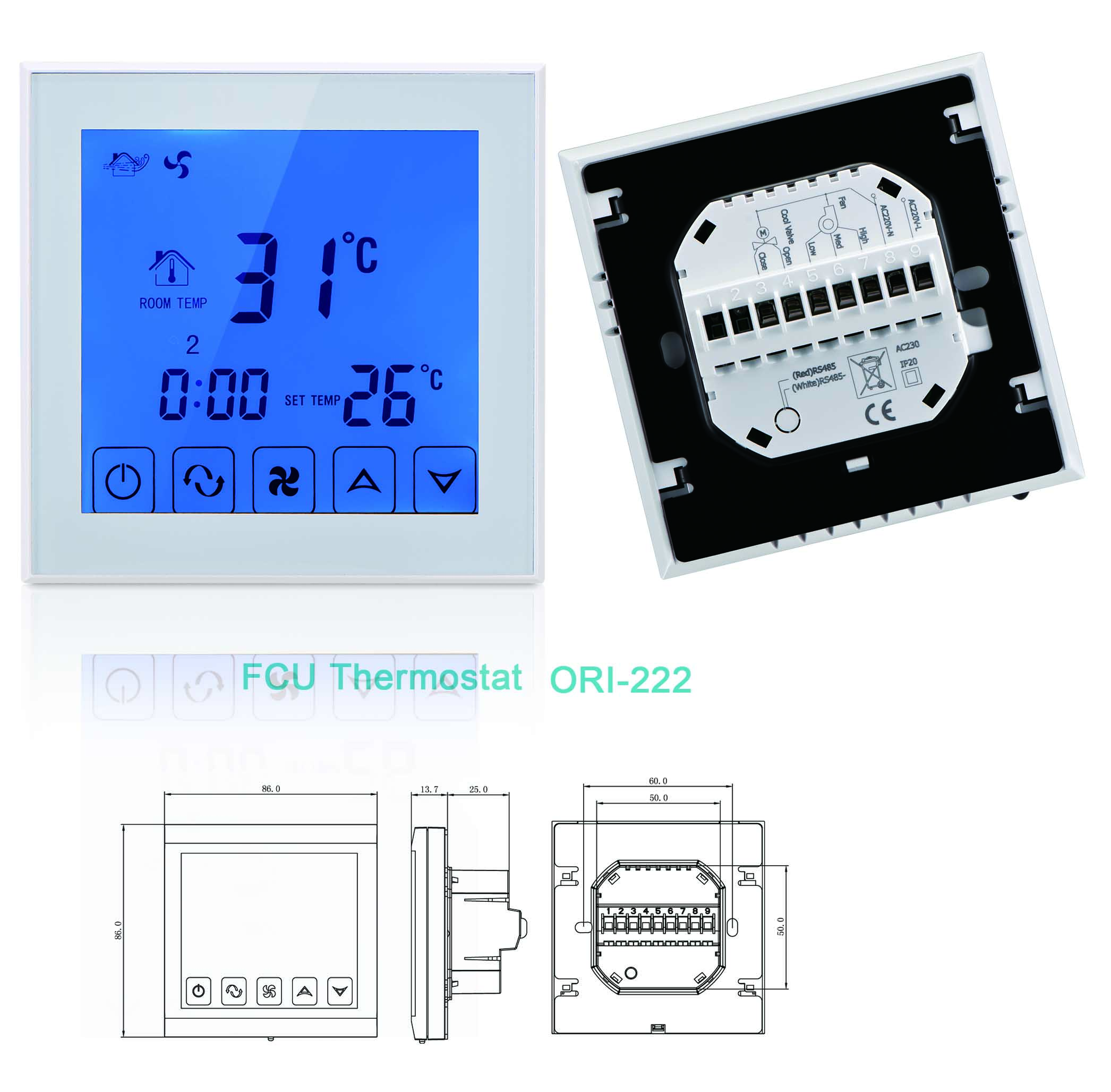 FCU Thermostat ORI-222
